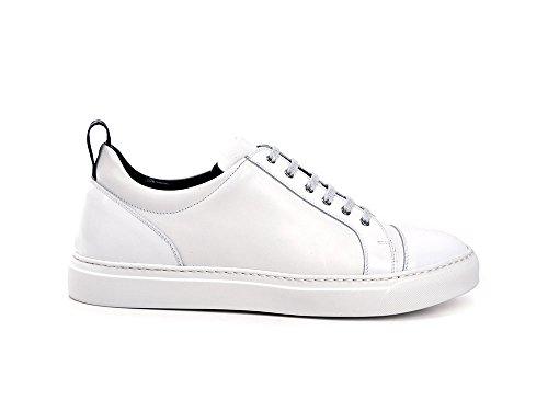 Dis Su PietroSneaker In E BiancaPersonalizzabileFatto Bianca MisuraMade Italy Mano Bassa A 3Ljq54AR