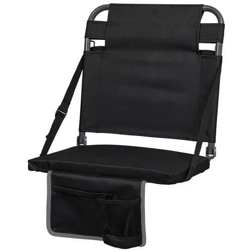 EastPoint Sports Bleacher Back Stadium Seat - Black