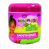 African Pride Dream Kids Olive Miracle Anti-Frizzy Conditioning Gel Smooth Edges 170 g/6 oz