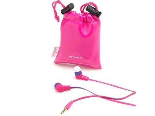 SMS Audio KidzSafe D.I.Y. Girls Earbuds, Pink
