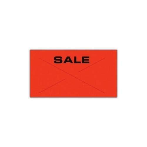 Garvey 2212-06090-CS, GX2212 Red/Black''Sale'' Label (Case of 220500 Labels)