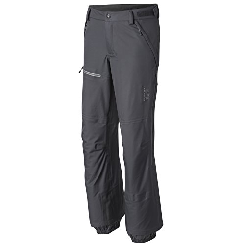Mountain Hardwear Men's Straight Chuter Pants, Shark, XL Regular - Mountain Hardwear Fleece Pants