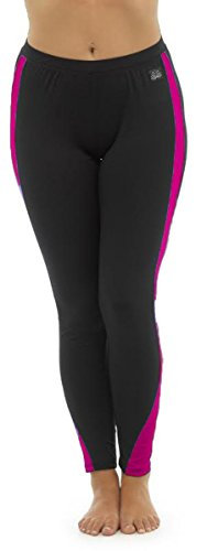 31wuijDjmEL - Ladies Tom Franks Two Tone Sport Fitness Yoga Gym Leggings Fashion MED-Pink