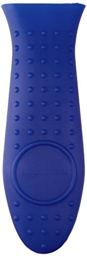 AmazonBasics Silicone Handle Holder Blue