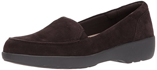 Dark Black Karin Brown Easy Suede Loafer Dark Slip On Brown Spirit Women's RxC0Bq