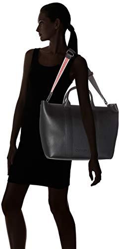 Klein Race Noir Shopper Calvin black Ew Cabas qpgfBw