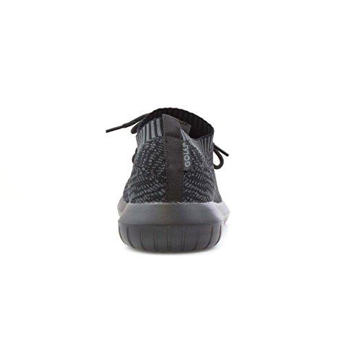Gola Heren Zwart Veters Lichtgewicht Sneaker Zwart