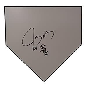 Chicago White Sox James Shields Autographed Hand Signed Baseball Home Plate Base with Proof Photo of Signing and COA