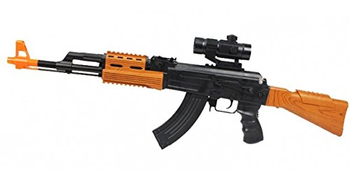 A&N Super Army Force AK47 7744 ELETRIC Toy Gun with Sounds and Lights -