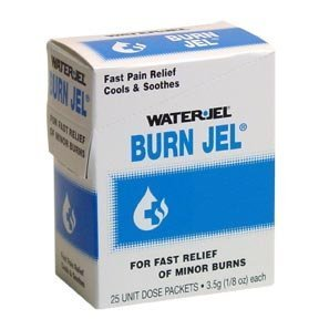 Water Jel Burn Jel, Pain Relief 25 ea
