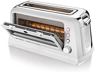 Macom Just Kitchen 829 Window Halo Toaster Grille-pain halogène avec fenêtre