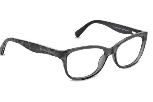 Dolce&Gabbana MATT SILK DG3136 Eyeglass Frames 1861-5316 - Transparent Gray DG3136-1861-53 by Dolce e Gabbana