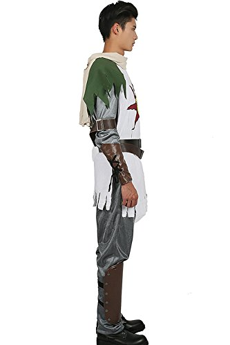Solaire Costume Sun Warrior Outfit for Halloween Cosplay L by xcostume (Image #3)