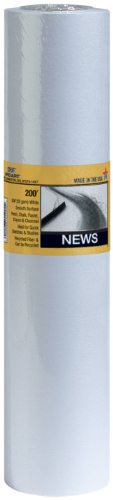 PRO ART 24-Inch by 200-feet Smooth Newsprint Paper Roll