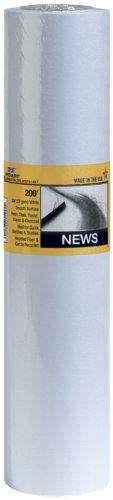 PRO ART 15-Inch by 100-feet Smooth Newsprint Paper -