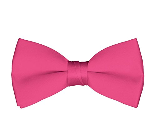 Men's Classic Pre-Tied Formal Tuxedo Bow Tie - Hot Pink (Ties Hot Pink compare prices)