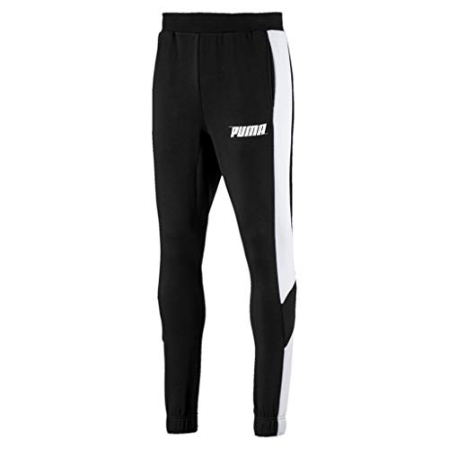 Cotton Cl Tr Puma Pantalon De Homme Jogging Black Rebel Pants Sqw84