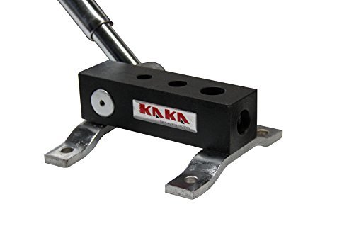 "KAKA RA-1 Manual Tube Notcher, 1/4"", 3/8"", 1/2"" Light Weight, High Precision Tubing Notcher"