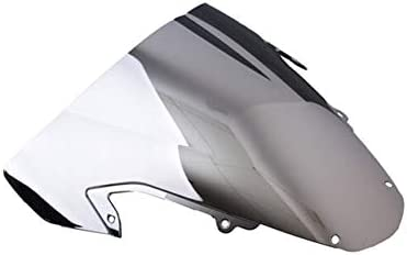 XMT-MOTOR Motorrad Windschutzscheibe Passend für GSX-R1000 2003-2004 Chrom