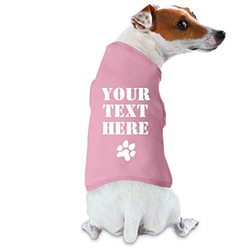 Personalized Dog Shirt - Customized Girl Personalized Dog Shirt: Dog Tank Top