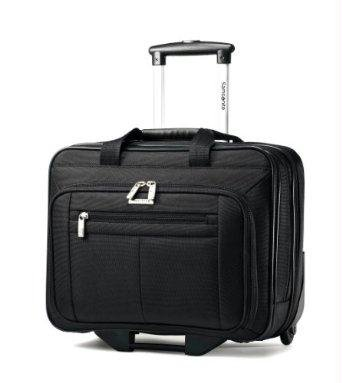 Classic 43876-1041 Carrying Case (Roller) for 15.6'' Notebook - Black
