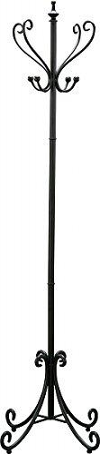 ポールハンガー コートハンガー 帽子掛け コート掛け 東谷家具 ポールハンガー COD-269BK <W54×D54×H175cm> 【AZUMAYA】 インテリア家具 ファミリー 一人暮らし シンプル おしゃれ B00N105A6U