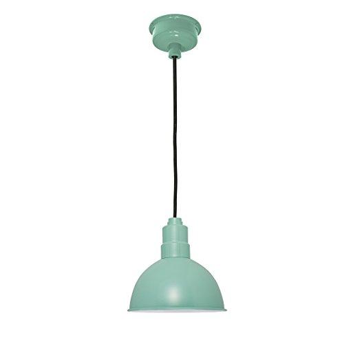 12' Gooseneck Lamp - Bam Light, 12'' BlackSpot,Wall,Jadite