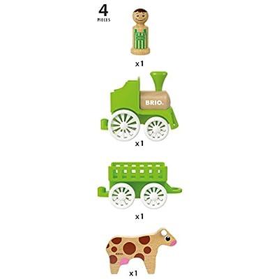 BRIO Farm Train Set: Toys & Games
