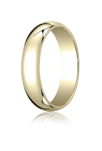 Mens-18K-Yellow-Gold-50mm-Traditional-Dome-Oval-Ring