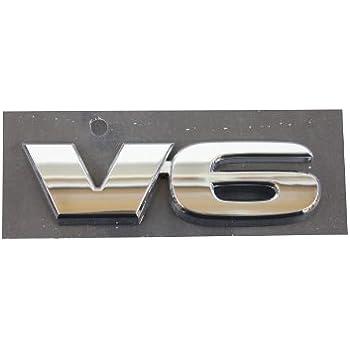 For Toyota Tacoma 05-15 Tailgate V6 Nameplate Emblem Genuine NEW 75473-04050
