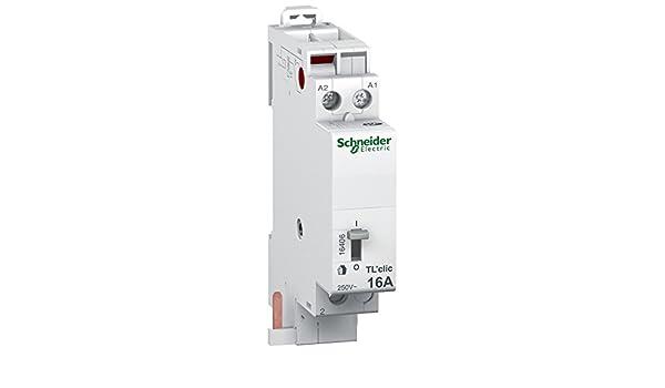 Schneider Electric SC5SHN0316406 - Telerruptor modular (16 A ...