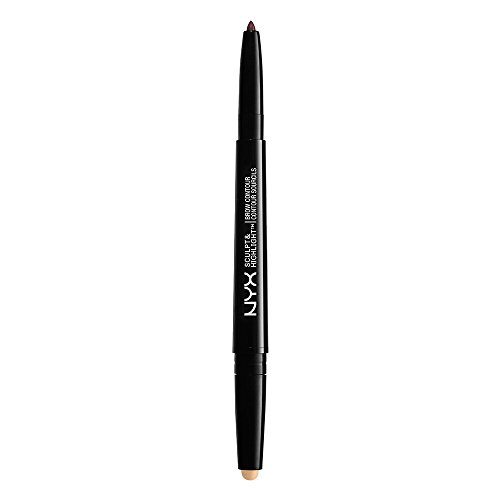 NYX PROFESSIONAL MAKEUP sculpt & highlight brow contour, light beige/espresso