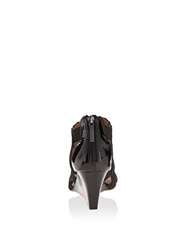 Women's Sandal Wedge Pira Donald Stretch Black J Pliner wqEp77a