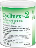 Cyclinex 2 Amino Acid-Modified Medical Food 14.1 oz. Can [Case of 6]