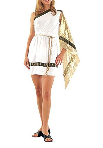 Ladies Fancy Roman Greek Costume Womens Hen Night Stylish Dress Party Wear Outfit US 6-8