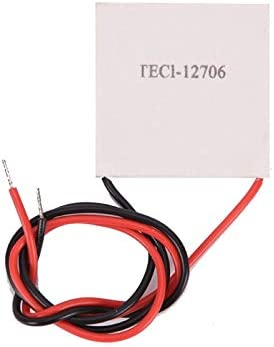 BoKa-Store TEC1-12706 Thermoelectric Cooler Pelr TEC1-12706 40x40MM 12V Pelr Elemente Module