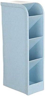 Sgualie Aufbewahrungsbox, transparent, 4 Farben blau
