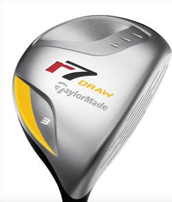 Used TaylorMade R7 Draw 5 Madera 5 W grafito regular para ...