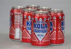 India Kola Champagne - Puerto Rico's Original Kola - 12 fl oz (Six Pack)