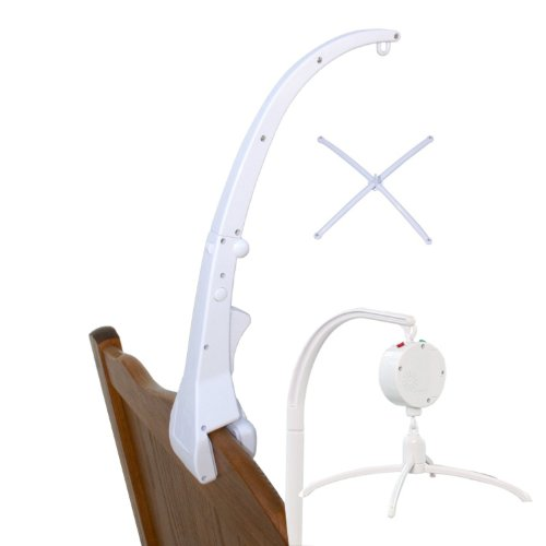 Baby Music Mobile with Arm for a Crib, Pass Ce/rohs Standard Many Children Songs Available (Tune: Electric One Play 12 Tunes)