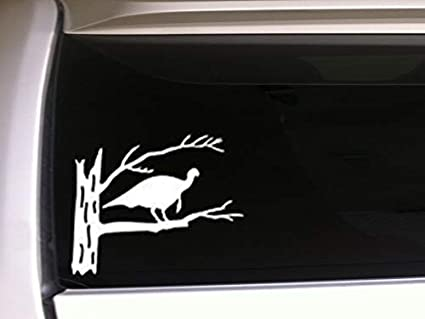 WILD TURKEY  Vinyl Oracal Car Auto Decal Window Sticker Hunting Outdoors