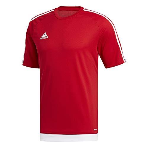 Adidas blanco Estro Red Jersey poder rojo Men's 15 vvqrT1