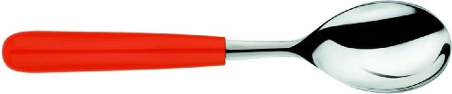 Alessi All-Time Tea Spoon, Red - Set of 6