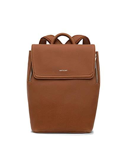 Matt & Nat Fabi Mini Handbag, Vintage Collection, Chili (Brown)