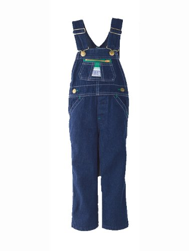 Walls John Deere Youth Kids Stonewashed Denim Bib Overalls 5
