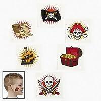 36 pc Pirate Tattoos