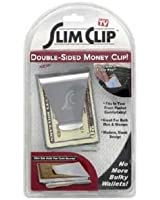 Slim Card Clip Double-sided Money Clip
