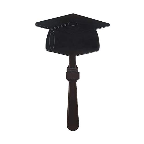 Fun Express - Black Mortar Board Clapper for Graduation - Toys - Noisemakers - Hand Clappers - Graduation - 12 Pieces]()