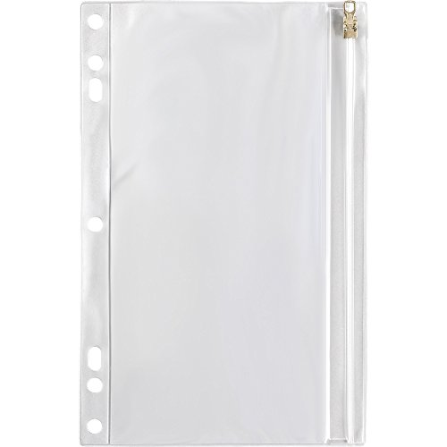 (SPR01606 - Vinyl Ring Binder Pocket, 9-1/2x6, Clear)
