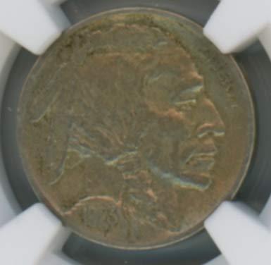 1923 S Buffalo Nickel 5c VF25 NGC